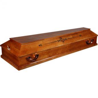 Гроб деревянный «Питерский» Б-2