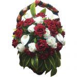 Ритуальные венки корзинки на похороны