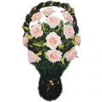 Корзинка с цветами ритуальная «Ваза» 05