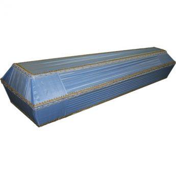 Гроб обитый тканью «Бирюза»
