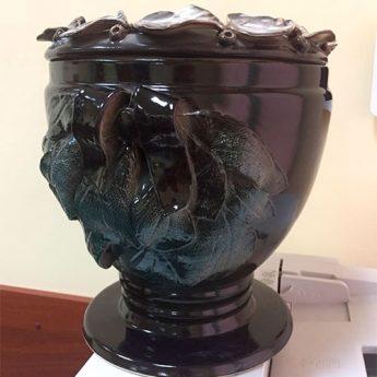 Урна для праха из керамики УФ 1701-ЛК