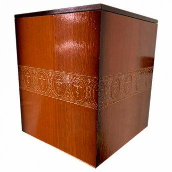 Урна для праха деревянная УРД-14